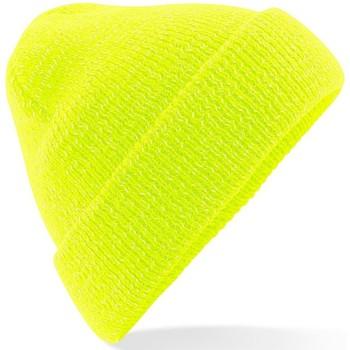 Accessori Berretti Beechfield Reflective Giallo fluorescente