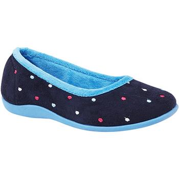 Scarpe Donna Pantofole Sleepers  Blu/Turchese