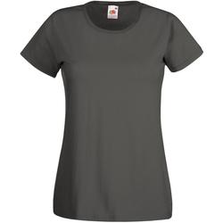 Abbigliamento Donna T-shirt maniche corte Universal Textiles 61372 Grafite