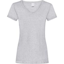 Abbigliamento Donna T-shirt maniche corte Universal Textiles Value Grigio screziato