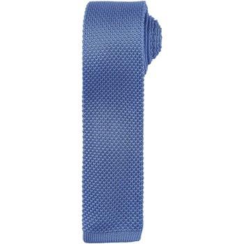 Abbigliamento Uomo Cravatte e accessori Premier Textured Blu medio