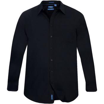 Abbigliamento Uomo Camicie maniche lunghe Duke  Nero