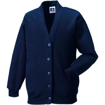 Abbigliamento Unisex bambino Gilet / Cardigan Jerzees Schoolgear 273B Blu navy