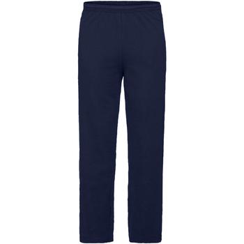Abbigliamento Uomo Pantaloni da tuta Fruit Of The Loom Jog Blu scuro