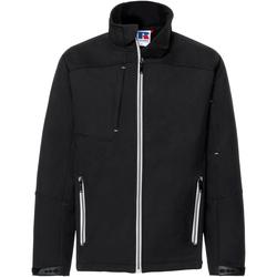 Abbigliamento Uomo giacca a vento Russell R410M Nero