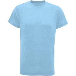 Abbigliamento Uomo T-shirt maniche corte Tridri TR010 Turchese melange