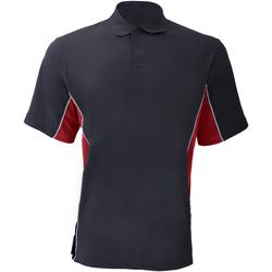 Abbigliamento Uomo Polo maniche corte Gamegear KK475 Blu navy/Rosso/Bianco