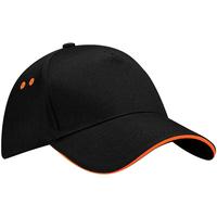 Accessori Cappellini Beechfield B15C Nero/Arancio