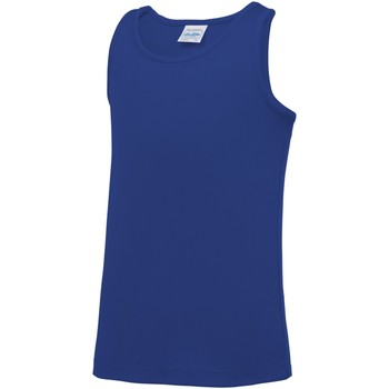 Abbigliamento Unisex bambino Top / T-shirt senza maniche Awdis JC07J Blu reale