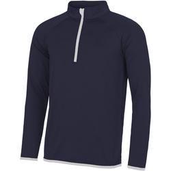 Abbigliamento Uomo Felpe Awdis JC031 Blu Francia/Bianco Artico