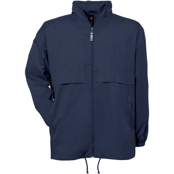 Abbigliamento Uomo giacca a vento B And C Air Blu navy