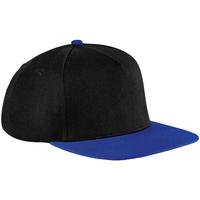 Accessori Cappellini Beechfield B660 Nero/Blu reale