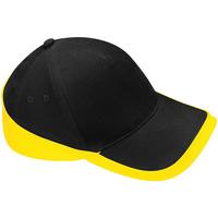 Accessori Cappellini Beechfield B171 Nero/Giallo