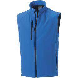 Abbigliamento Uomo Gilet / Cardigan Russell Soft Shell Azzurro