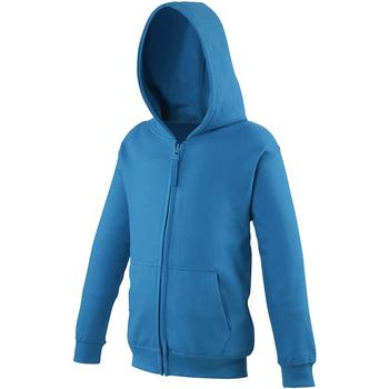 Abbigliamento Unisex bambino Felpe Awdis JH50J Blu zaffiro