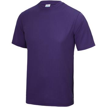 Abbigliamento Unisex bambino T-shirt maniche corte Awdis JC01J Viola