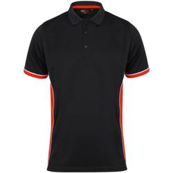 Abbigliamento Uomo Polo maniche corte Finden & Hales TopCool Nero/Rosso/Bianco