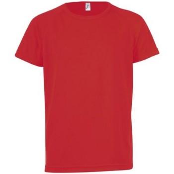 Abbigliamento Unisex bambino T-shirt maniche corte Sols Sporty Rosso