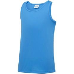 Abbigliamento Unisex bambino Top / T-shirt senza maniche Awdis JC07J Blu Zaffiro