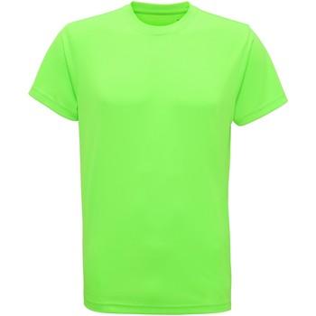 Abbigliamento Uomo T-shirt maniche corte Tridri TR010 Verde neon