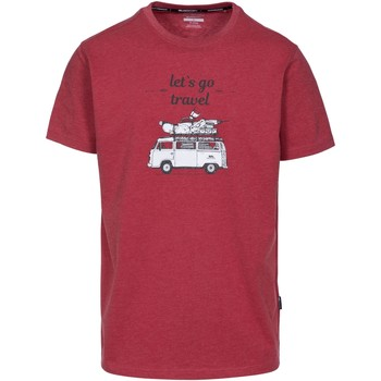 Abbigliamento Uomo T-shirt maniche corte Trespass Motorway Rosso screziato