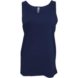 Abbigliamento Donna Top / T-shirt senza maniche Bella + Canvas CA3480 Blu navy