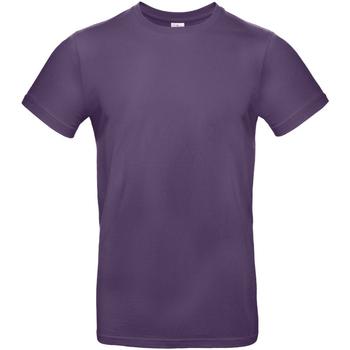 Abbigliamento Uomo T-shirt maniche corte B And C TU03T Viola splendente