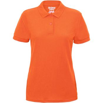 Abbigliamento Donna Polo maniche corte Gildan 75800L Arancione neon