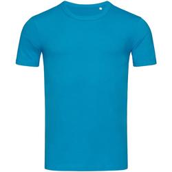 Abbigliamento Uomo T-shirt maniche corte Stedman Stars Morgan Azzurro
