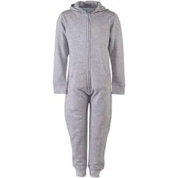 Abbigliamento Unisex bambino Tuta jumpsuit / Salopette Skinni Fit Minni Grigio screziato