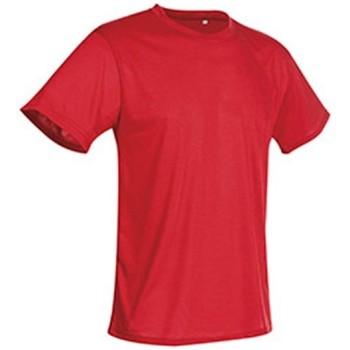 Abbigliamento Uomo T-shirt maniche corte Stedman  Rosso