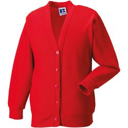 Abbigliamento Unisex bambino Gilet / Cardigan Jerzees Schoolgear 273B Rosso acceso