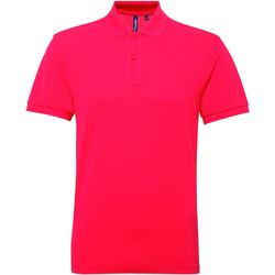 Abbigliamento Uomo Polo maniche corte Asquith & Fox AQ015 Rosa acceso