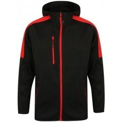 Abbigliamento Uomo giacca a vento Finden & Hales LV622 Nero/Rosso