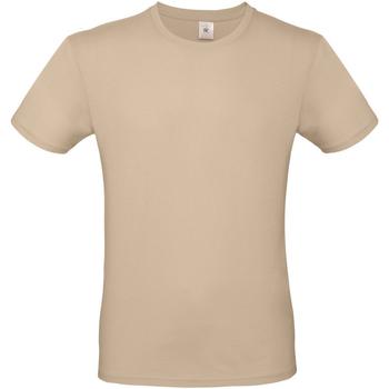 Abbigliamento Uomo T-shirt maniche corte B And C TU01T Sabbia