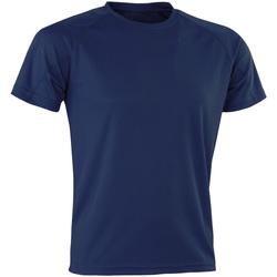 Abbigliamento Uomo T-shirt maniche corte Spiro Aircool Blu navy