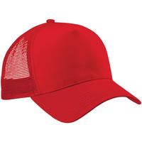 Accessori Cappellini Beechfield Trucker Rosso/Rosso