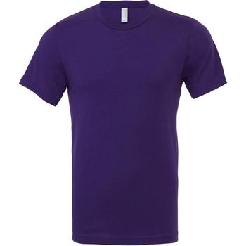 Abbigliamento Uomo T-shirt maniche corte Bella + Canvas CA3001 Viola Scuro