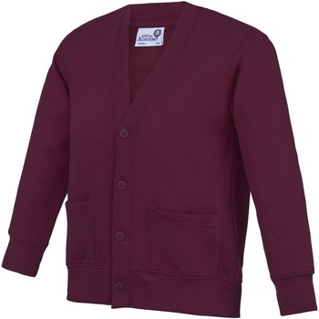 Abbigliamento Unisex bambino Gilet / Cardigan Awdis Academy Vino