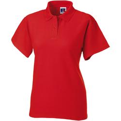 Abbigliamento Donna Polo maniche corte Jerzees Colours 539F Rosso acceso