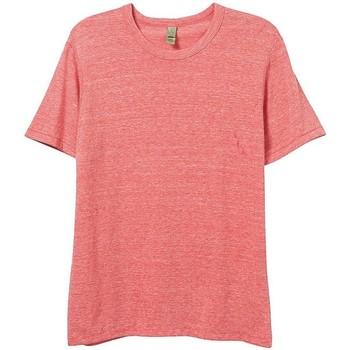 Abbigliamento Uomo T-shirt maniche corte Alternative Apparel AT001 Rosso Eco
