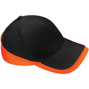 Accessori Cappellini Beechfield B171 Nero/Arancio