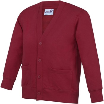 Abbigliamento Unisex bambino Gilet / Cardigan Awdis  Bordeaux