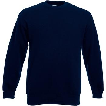 Abbigliamento Uomo Felpe Fruit Of The Loom 62154 Blu scuro