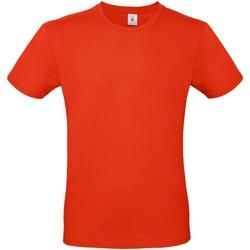 Abbigliamento Uomo T-shirt maniche corte B And C TU01T Rosso Fuoco