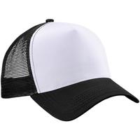 Accessori Cappellini Beechfield Trucker Nero/Bianco