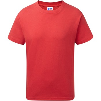 Abbigliamento Bambino T-shirt maniche corte Jerzees Schoolgear J155B Rosso