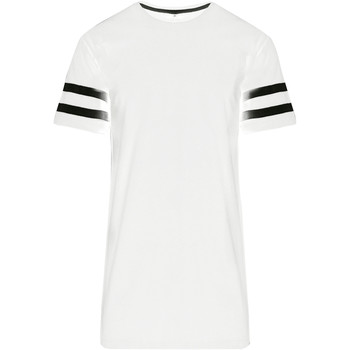 Abbigliamento Uomo T-shirt maniche corte Build Your Brand BY032 Bianco/Nero