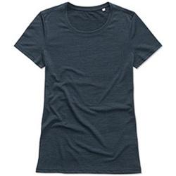 Abbigliamento Donna T-shirt maniche corte Stedman  Blu scuro screziato