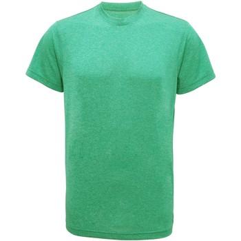 Abbigliamento Uomo T-shirt maniche corte Tridri TR010 Verde melange